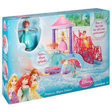 princess little mermaid ariel water palace bath set