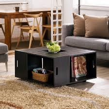coffee tables astonishing wooden wine crate coffee table