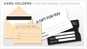 gift card sleeve plastic gift card sleeve store