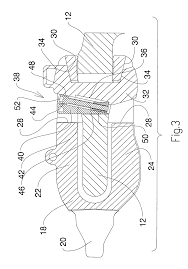 patent us8458931 excavator tooth retention device google patents