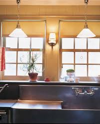 Salvaged Sink 6 Bright Kitchen Lighting Ideas See How New Fixtures Totally