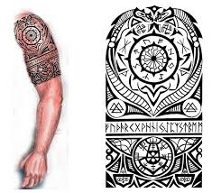photo collection gallery viking tribal sleeve