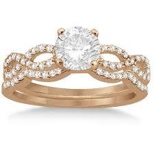 Gold Diamond Wedding Rings by Best 25 Infinity Ring Diamond Ideas On Pinterest Natural