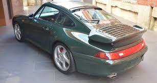 porsche british racing green 1995 porsche 911 993 turbo classic driver market