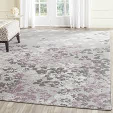 Purple And Grey Area Rugs Ales Light Grey Purple Area Rug Reviews Birch
