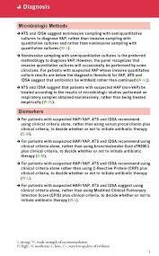 Serum Ats ats guidelines bundle hap vap