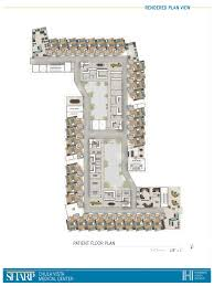 Tertiary Hospital Floor Plan by Medical Center Newschool