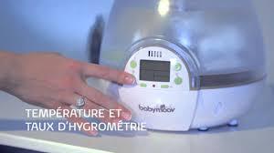 humidificateur pour chambre bébé humidificateur digital de babymoov