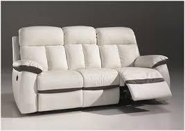 canapé 2 places electrique canapé cuir relax electrique 3 places pour de meilleures