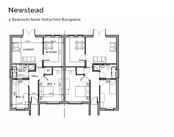 2 bedroom semi detached bungalow floor plans u2013 home plans ideas