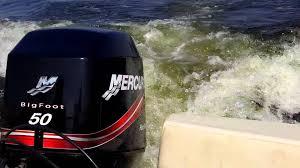 mercury 50 hp 4 stroke youtube