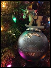 personalized disney ornaments sippy cup