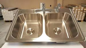 Kitchen Sink Faucet Combo Kitchen Sink And Faucet Combo Top Mount Thedailygraff