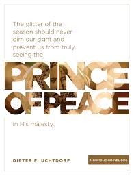 seeing the prince of peace