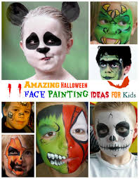 amazing halloween face painting ideas for kids
