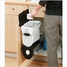 Kitchen Cabinet Trash Can Kitchen Trash Can Cabinet Monsterlune