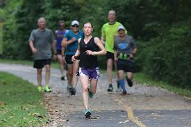 q u0026 a with sr sarah heger finding community in running global