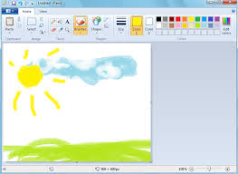 paint software microsoft paint evolution from to magnificent
