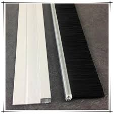 sliding glass door weather seal bottom door sliding rubber strip door seal with aluminium holder