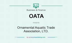 oata ornamental aquatic trade association ltd in business
