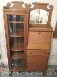 Antique Oak Bookcase With Glass Doors Antique Bookcases With Glass Doors Huksf