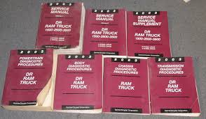 2003 dodge ram truck 1500 2500 3500 service manual set u2022 289 99
