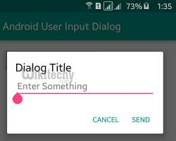 dialog android android tutorial alert dialog in android android prompt user