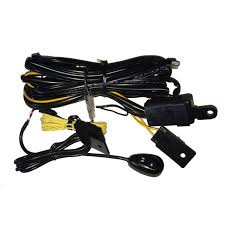 arb auxiliary light wiring loom for driving u0026 spot lights 130w x2