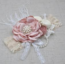 baby flower headbands baby flower headband araminta boutique