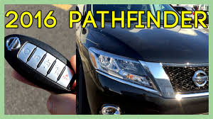 nissan pathfinder 2016 youtube 2016 nissan pathfinder sl quick look u0026 overview tour exhaust
