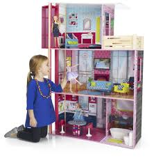 Big Barbie Dollhouse Tour Youtube by Imaginarium City Studio Wooden Dollhouse Toys