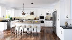 forevermark cabinets ice white shaker furniture modern scandinavian kitchen with ice white shaker