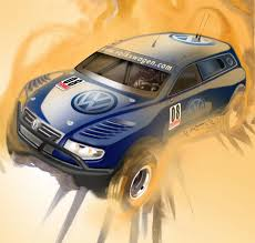 rally truck 2009 volkswagen touareg tdi trophy truck pictures news research