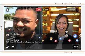 facebook live now lets you add a friend to live stream together