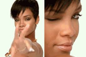Wink Meme - 15 of the best rihanna wink memes from tumblr in 2015