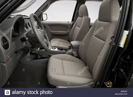jeep liberty steering wheel 2006 jeep liberty renegade in beige front seats stock photo