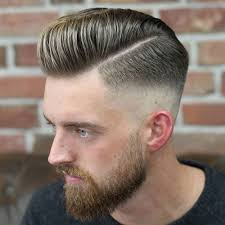 pompadour haircut mens top 101 best hairstyles for men and boys 2018 mid skin fade