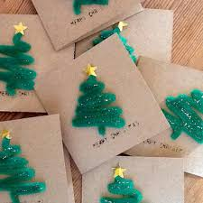 cheap photo christmas cards loving these easy pipe cleaner christmas cards what a great idea