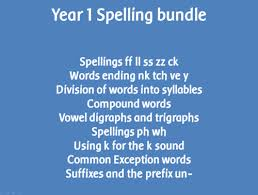 spag year 1 spelling pack sounds spelt ff ll ss zz and ck by