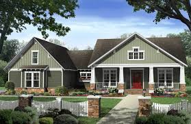 craftsman cottage craftsman bungalow with basement and bonus 51146mm