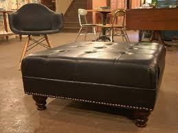 Leather Ottoman Round by Ottoman Coffee Table Turned Diy Tufted Ottoman Image Of Round