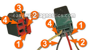 part 4 how to test the ford fuel pump relay green relay