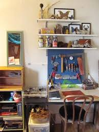 how to create a workspace in a tiny studio apartment on a tinier