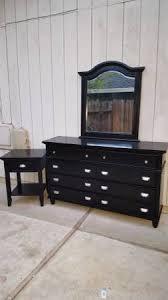 black dresser with mirror nightstand 135 u2013 vilmy u0027s furniture