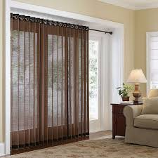 furniture luxury brown fabric transparent sliding glass door