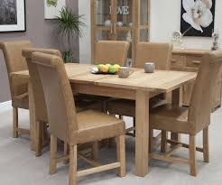 homestyle gb opus oak extending table with 6 louisa chairs