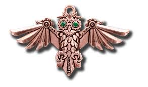 steampunk owl necklace images Anne stokes engineerium aviamore owl pendant social pariah jpg