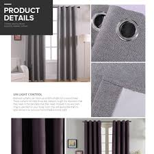 Home Theater Blackout Curtains Modern Solid Blackout Curtains For Bed Room Living Room Window