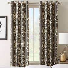 grommet top curtains custom drapes with grommet selectblinds