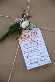 santa gift tag printables santa gifts pole and free